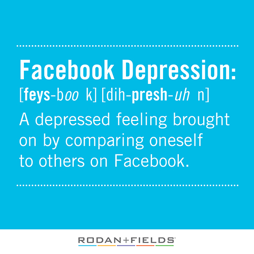 facebook depression Psychologists (and subsequently the media) have defined 'facebook depression'  as the affective result of spending too much time on the social networking site.